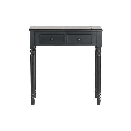 Woood Romy Black Wood Dressing Table from Accessories for the Home