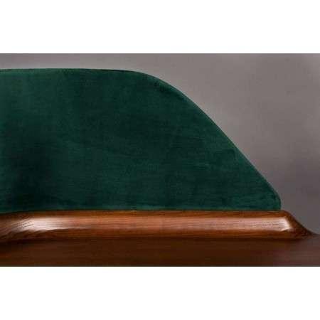 Dutchbone Finn Ash Desk with Velvet Panel from Accessories for the Home