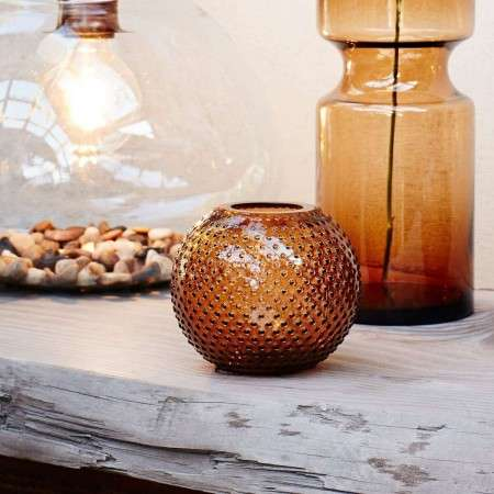 Madam Stoltz Dotty Round Glass Vases from Accessories for the Home