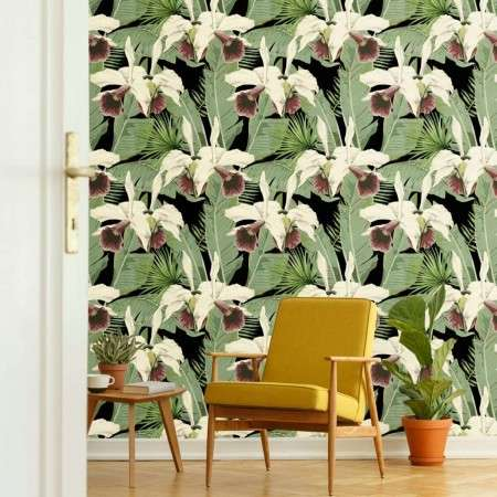 MIND THE GAP Treasure Island Anthracite Wallpaper