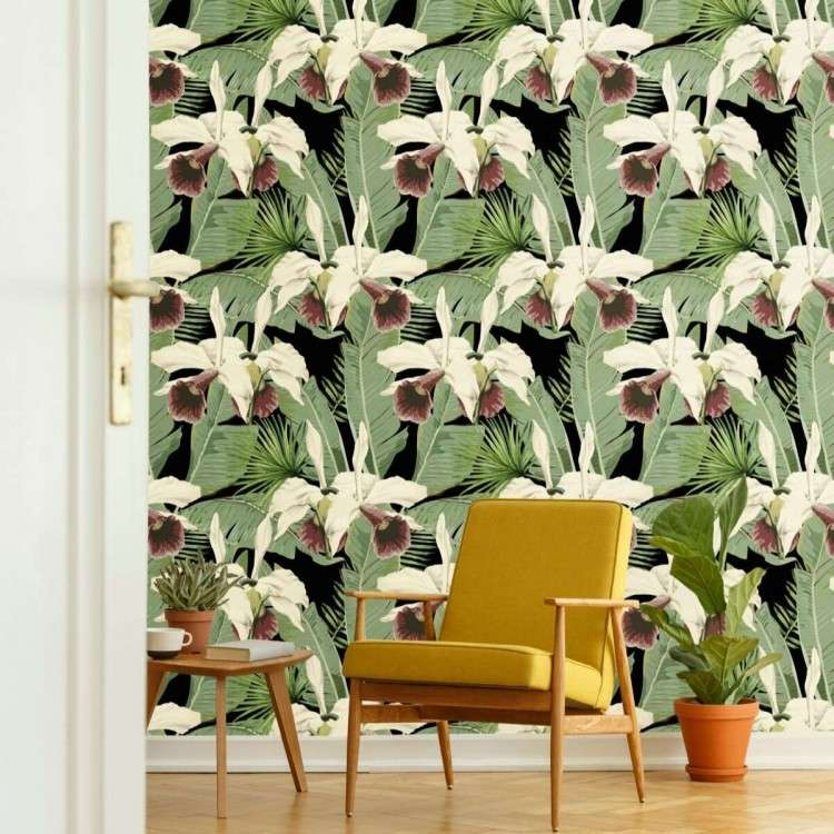 MIND THE GAP Treasure Island Anthracite Wallpaper from Accessories for the Home