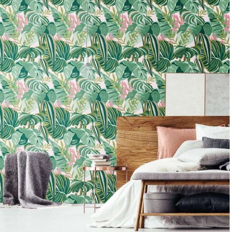 THE GAP Tropical Foliage Wallpaper from Accessories for the Home