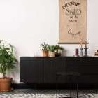 Zuiver Travis Sideboard in a Walnut or Oak Veneer Finish