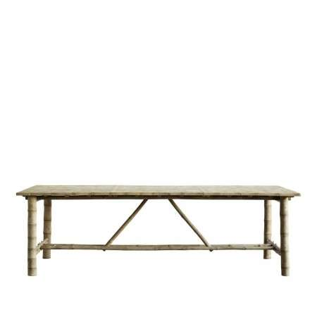 Tinekhome Natural Bamboo Dining Table from Accessories for the Home