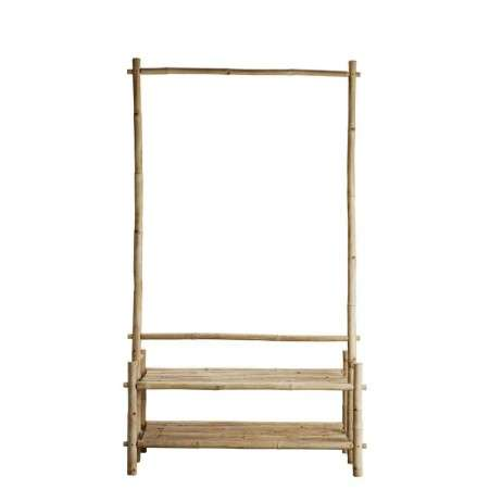 Tinekhome Bamboo Free-standing Clothes Rail from Accessories for the Home