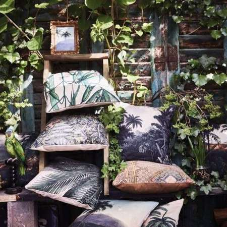 HKLiving Tropical Printed Cushions