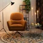 Dutchbone Robusto Whisky Armchair from Accessories for the Home