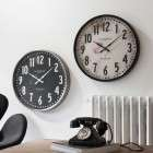 Meyrin Wall Clock - Silver