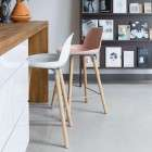 Albert Kuip Polypropylene Bar Stool Various Colours
