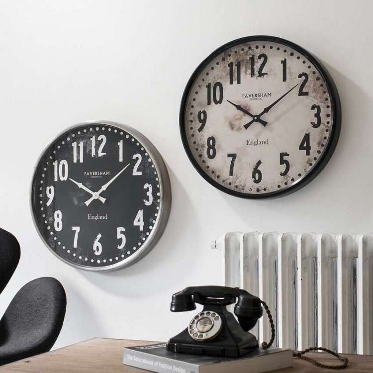 Meyrin Wall Clock - Black