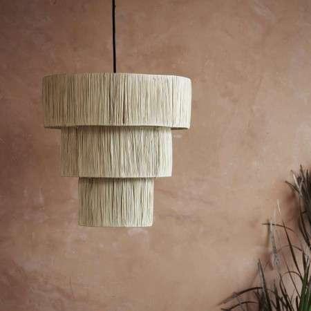 Tinekhone Palm Leaf Ceiling Pendant