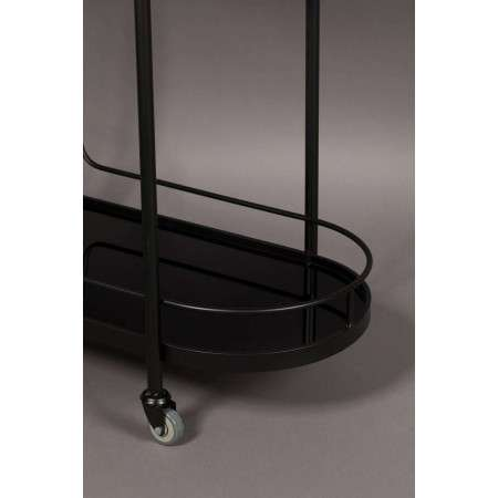 Dutchbone Guilia Black Metal Drinks Trolley from Accessories for the Home