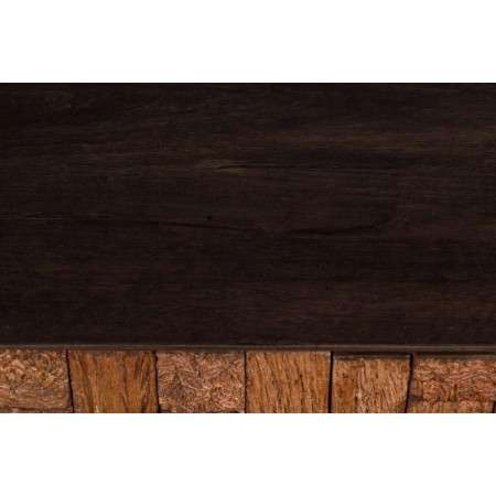 Dutchbone Chisel Carved Mango Wood Cabinet from Accessories for the Home