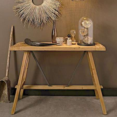 Dutchbone Dustin Fir Wood Console Table from Accessories for the Home