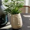 Nordal Facia Ceramic cream Plant Pot from Accessories for the Home