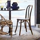 Madam Stoltz Elm and Rattan Dining Chair from Accessories for the Home