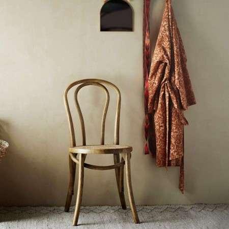 Elm & Rattan Dining Chair