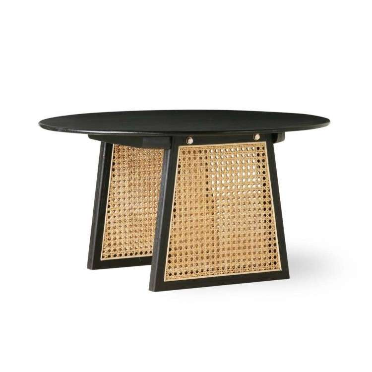 HKLiving Medium Rattan Coffee Table in Natural or Black from Accessories for the Home
