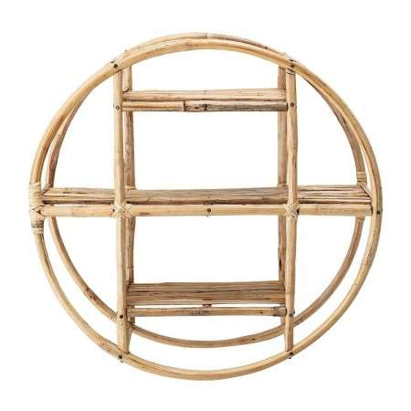 Bloomingville Sia Natural Cane Circular Wall Shelf from Accessories for the Home