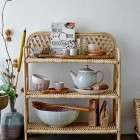Bloomingville Ezra Natural Cane Bookcase from Accessories for the Home