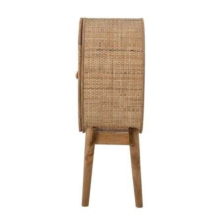 Bloomingville Otto Circular Rattan Cabinet from Accessories for the Home