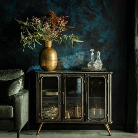 Dutchbone Denza Iron Display Sideboard