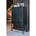 BePureHome Wish Black Metal Cabinet from Accessories for the Home