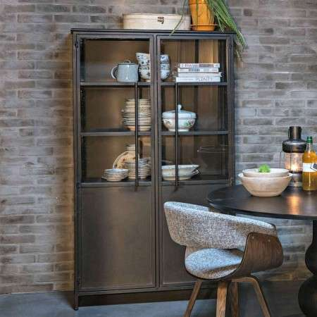 BePureHome Exhibit Black Display Cabinet from Accessories for the Home