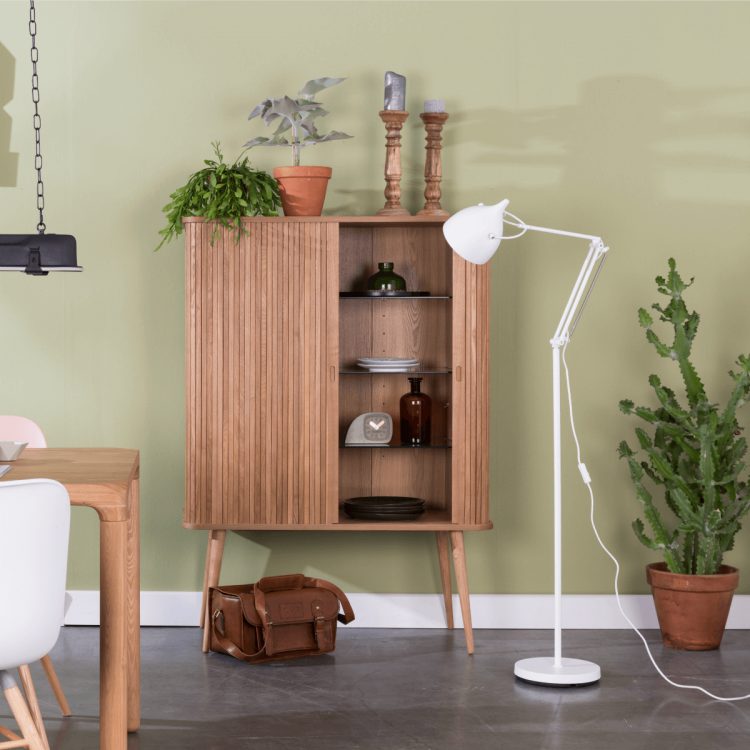 Zuiver Barbier Natural Ash Storage Cabinet from Accessories for the Home