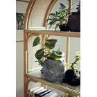 Nordal Bali Rattan and Glass Bookshelf from Accessories for the Home