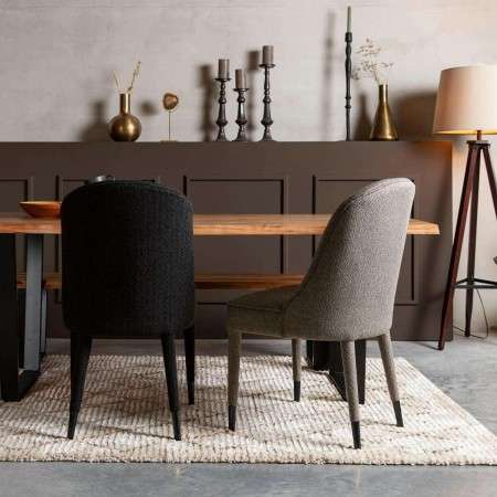 Dutchbone Burton Upholstered Dining Chair from Accessories for the Home