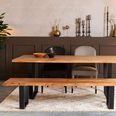 Dutchbone Aka Solid Wood Dining Table from Accessories for the Home