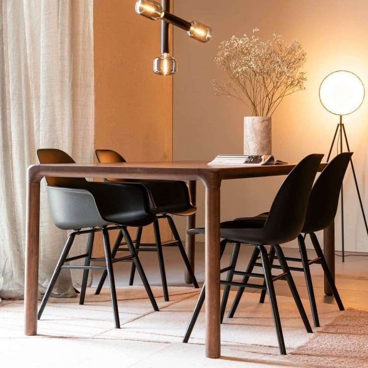 Zuiver Storm Walnut Finish Dining Table from Accessories for the Home