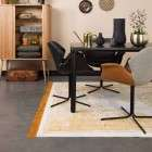 Zuiver Storm Black Finish Dining Table from Accessories for the Home