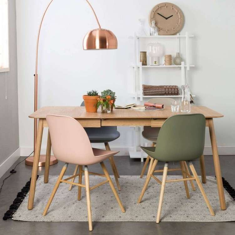 Zuiver Glimps Ash Extending Dining Table from Accessories for the Home
