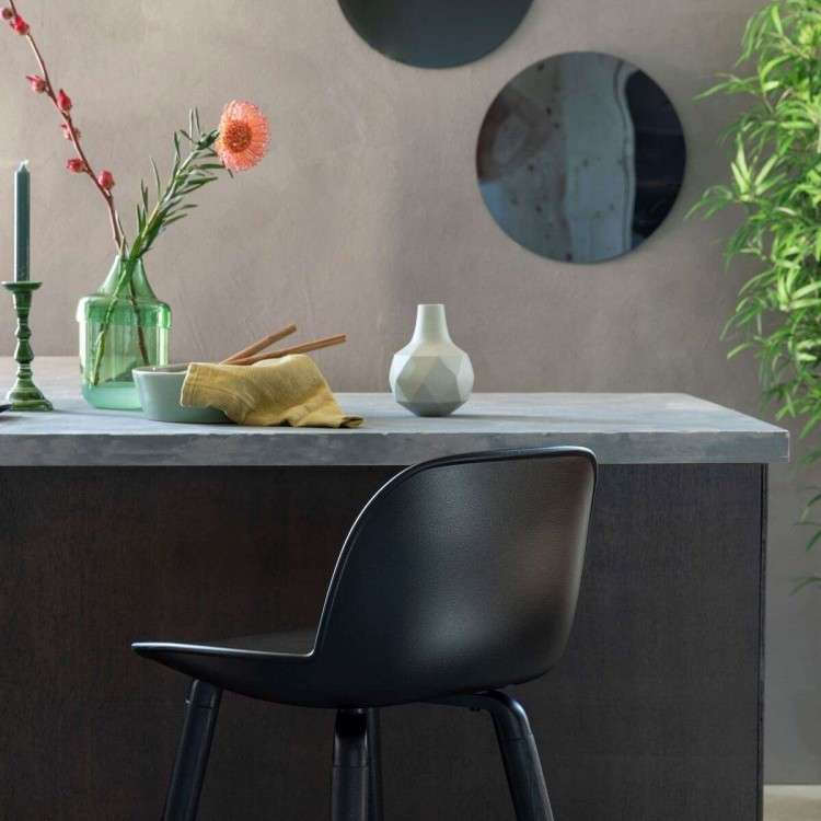 Zuiver Albert Kuip All Black Bar Chair from Accessories for the Home