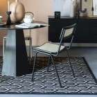Zuiver Jort Black Rattan Dining Chair from Accessories for the Home
