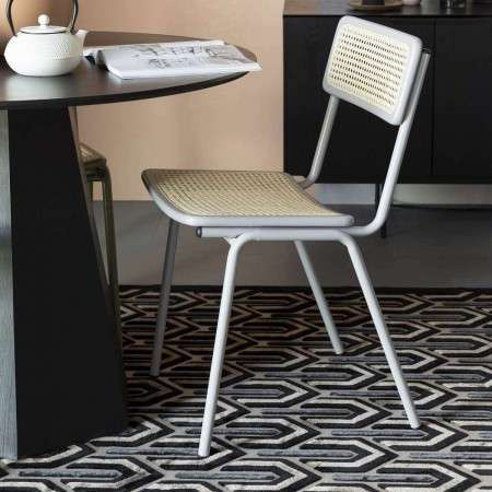 Zuiver Jort Grey Rattan Chair from Accessories for the Home
