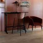 Dutchbone Declan Grey Iron Bar Table from Accessories for the Home