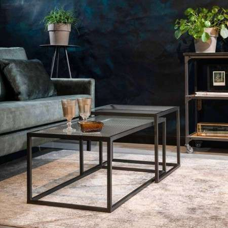 Dutchbone Boli Iron Coffee Tables (2)