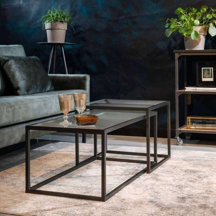 Dutchbone Boli Iron Coffee Tables (2) from Accessories for the Home