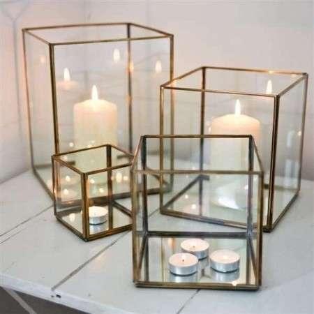Bimala Brass & Glass Lantern
