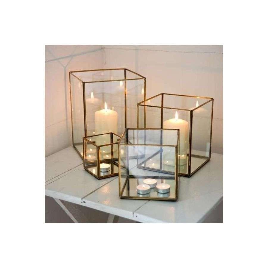 Nkuku Bimala Brass Lanterns At Accessories For The Home