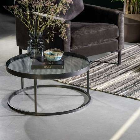 Dutchbone Boli Iron Round Coffee Table from Accessories for the Home