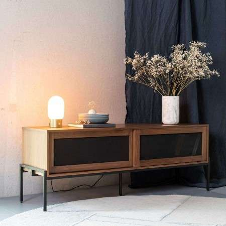 Zuiver Hardy Sideboard in a Black, Walnut or Oak Finish