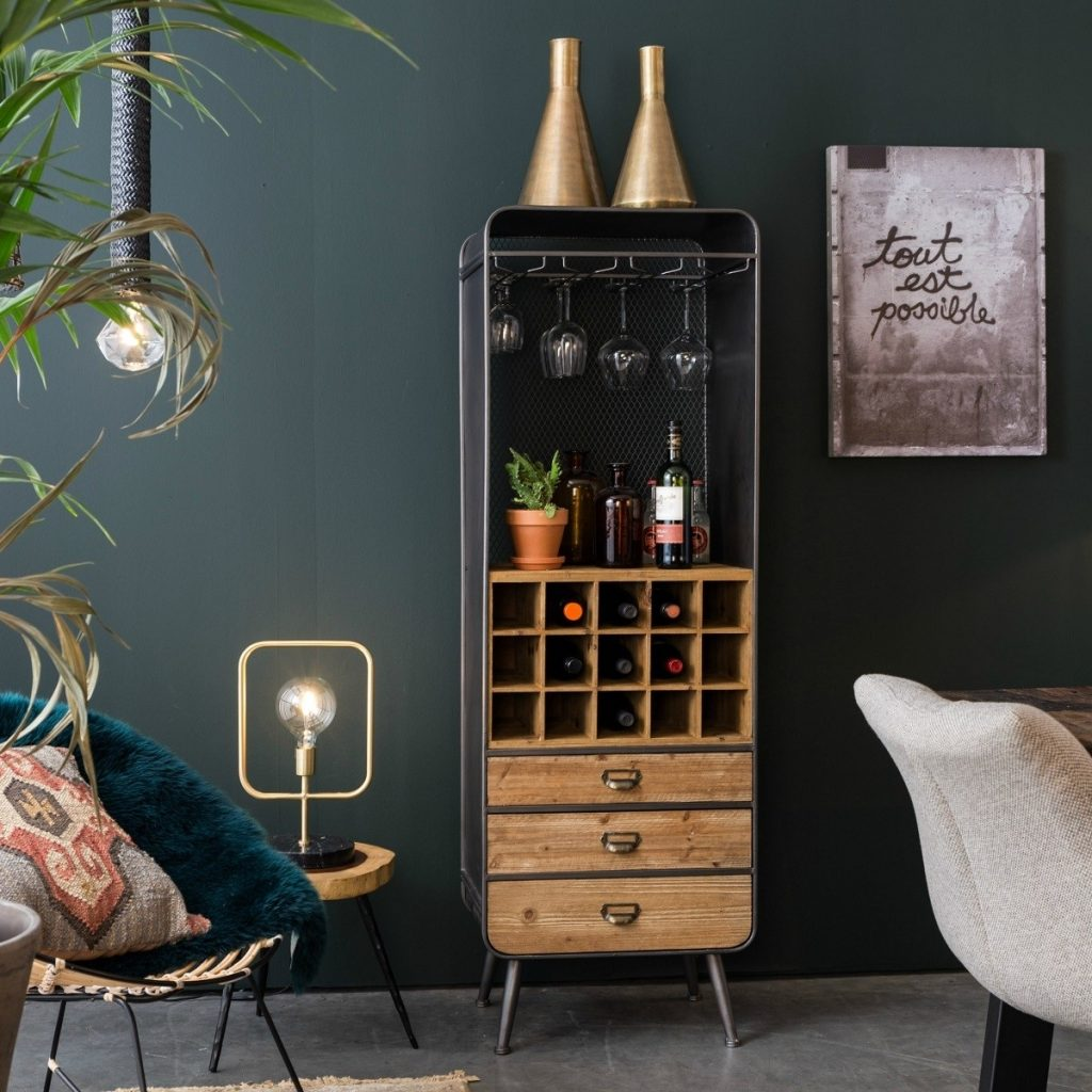 Dutchbone Vino drinks cabinet from Accessories for the Home