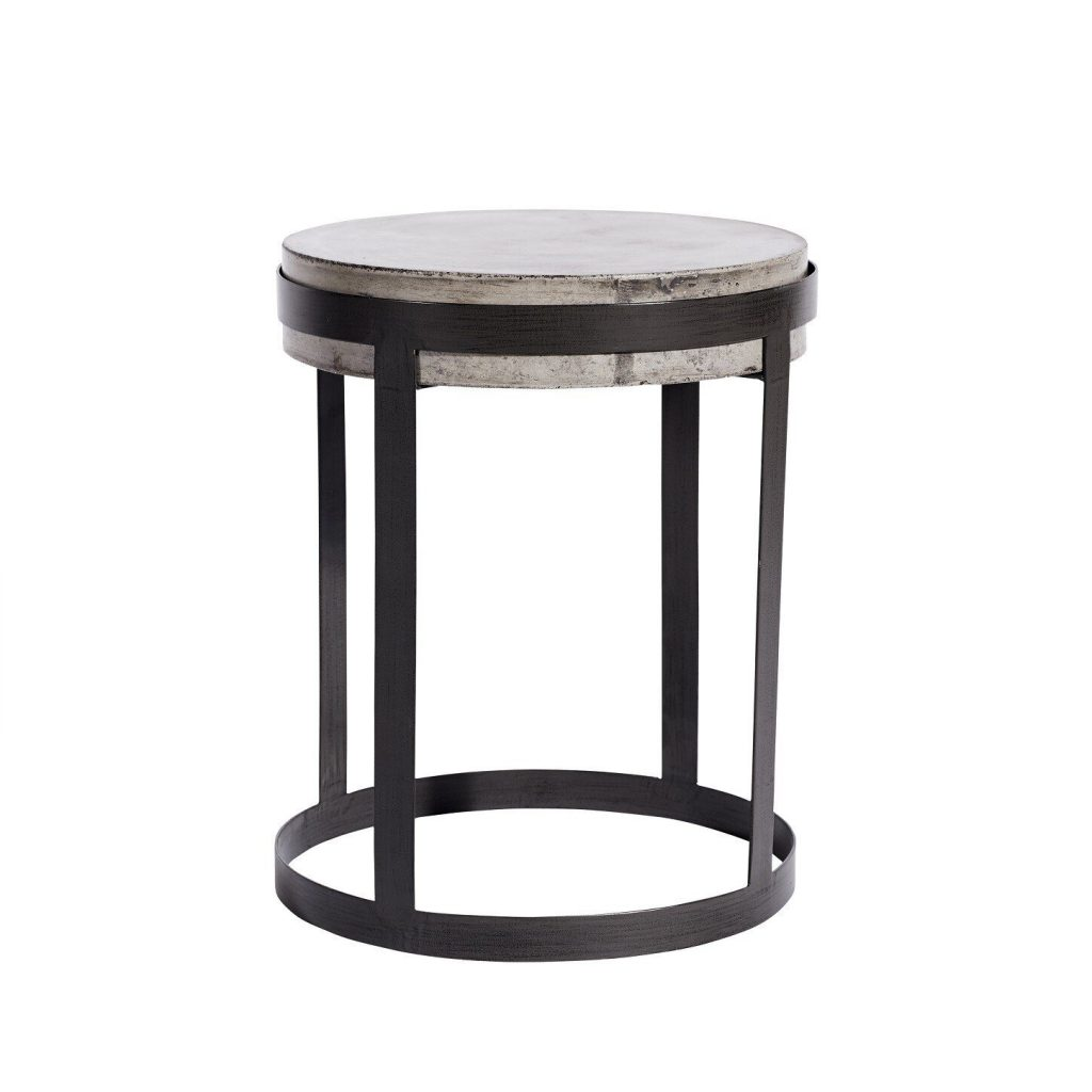 Muubs Willy Concrete and Iron Coffee Table from Accessories for the Home