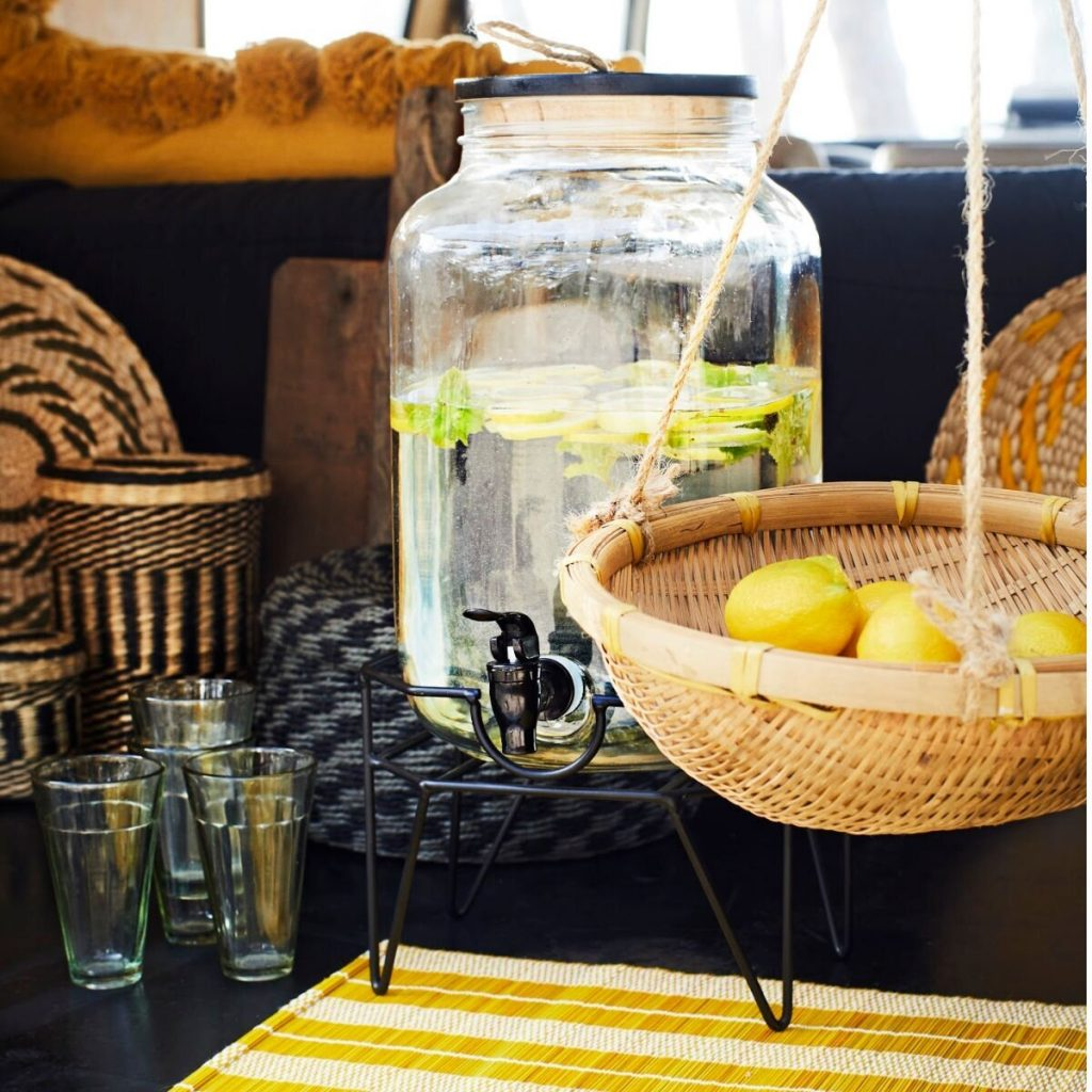 Madam Stoltz Summer Drinks Dispenser from Accessories for the Home