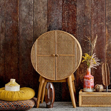 The Bamboo Rattan and Cane Collection from Accessories for the Home